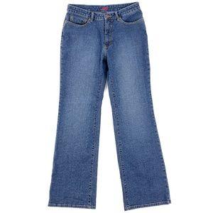 Jag Jeans Boot Cut Stretch Denim Zip Fly 14